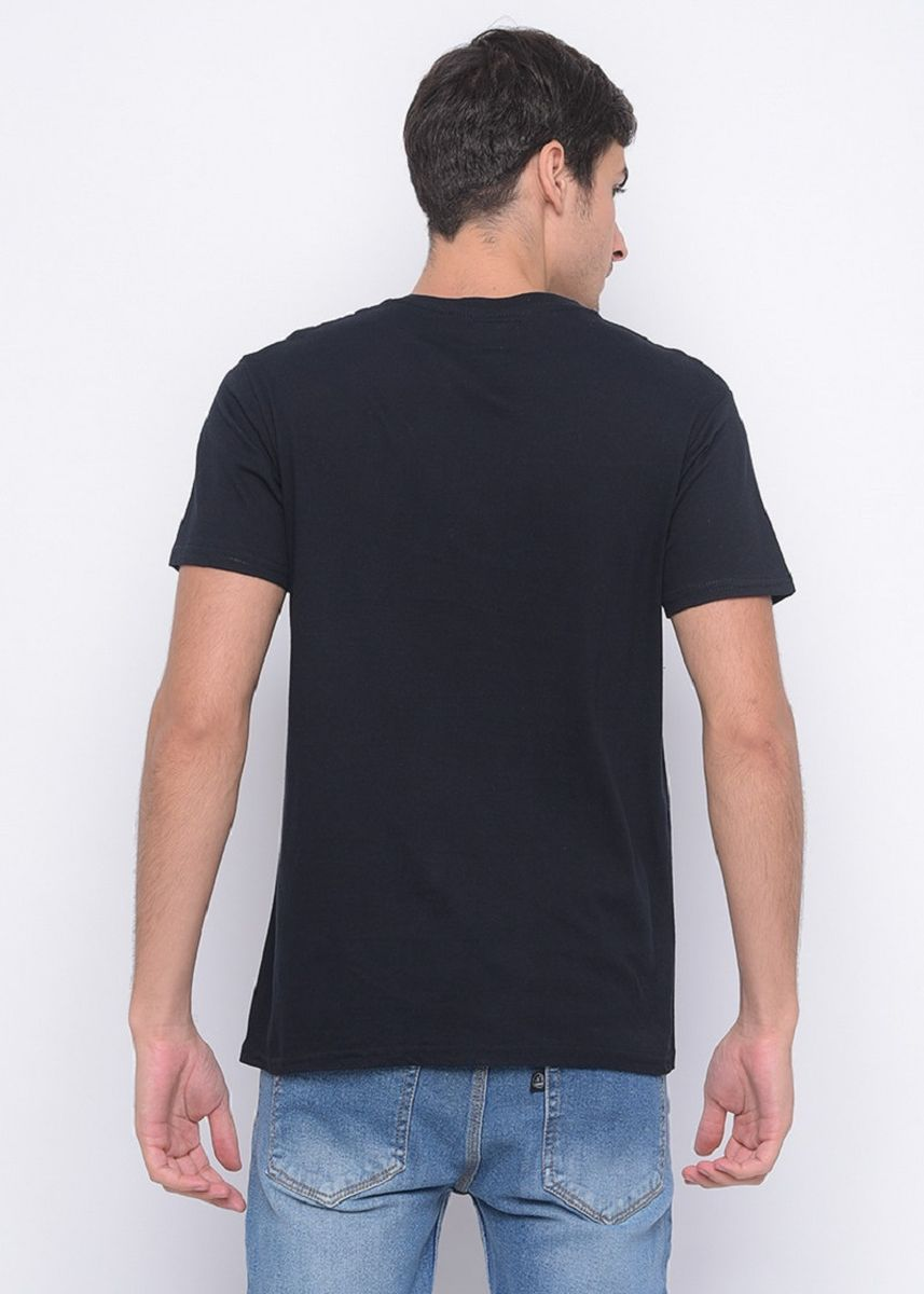 Black color T-Shirts and Polos . Black T-shirt with Doveci logo -