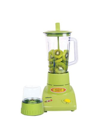 Putih color Blender . Miyako Blender Plastik 1 Liter 2in1 200 Watt - BL301PL/AP -