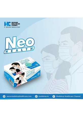 Blue color Masks . Masker Neo  -