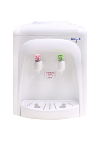 White color Kettles . Miyako Dispenser Hot And Normal 350 Watt - WD185H -