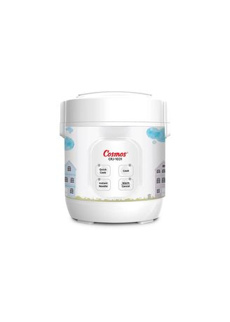 Tidak Berwarna color Rice Cooker . Cosmos Magic Com 0.3 Liter 4in1 Nonstick - CRJ1031 -