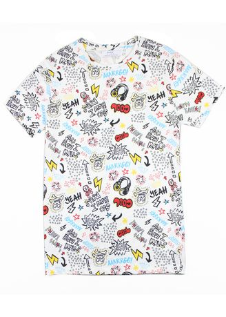 White color T-Shirts and Polos . Bershka Men's Casual T-Shirt -