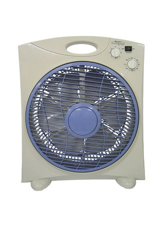 Grey color Fans . Maspion Box Fan 12 inch - EX2109 -