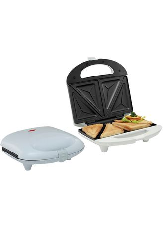 White color Pop-Up Toaster . Sharp Sandwich Toaster 700 Watt - KZS70LW -