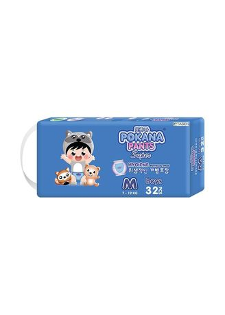 No Color color Diapers . Pokana Pants Super Boys Popok Celana M-32 -