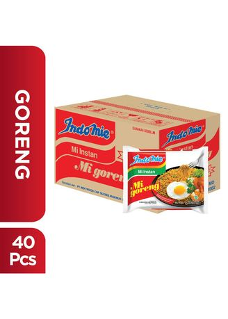 No Color color Pasta & Noodles . Indomie Goreng (40's x 85g) -