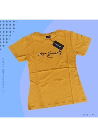 Yellow color Tees & Shirts . T-SHIRT CEWEK Greenlight - 03 -