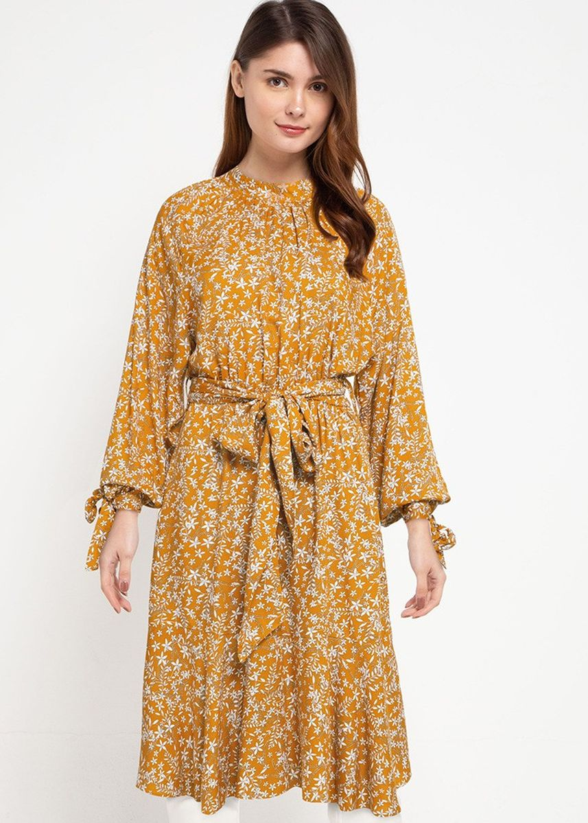 Yellow color Tops . Lipsy Tunic -