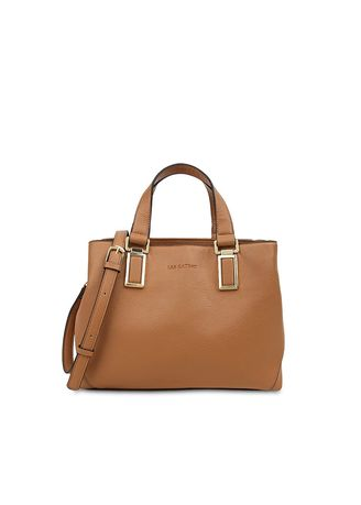 Multi color Hand Bags . Tas Travel Les Catino Meldy Satchel Camel -