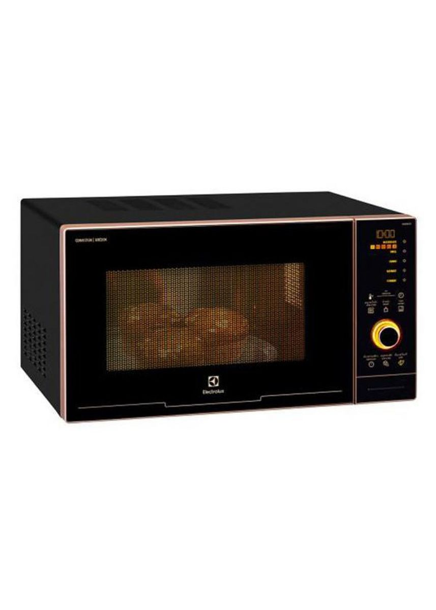 Hitam color Microwave Ovens . Electrolux 5-in-1 Microwave Oven with Air Cook Model EMS3082CR Rose Gold - Garansi Resmi -