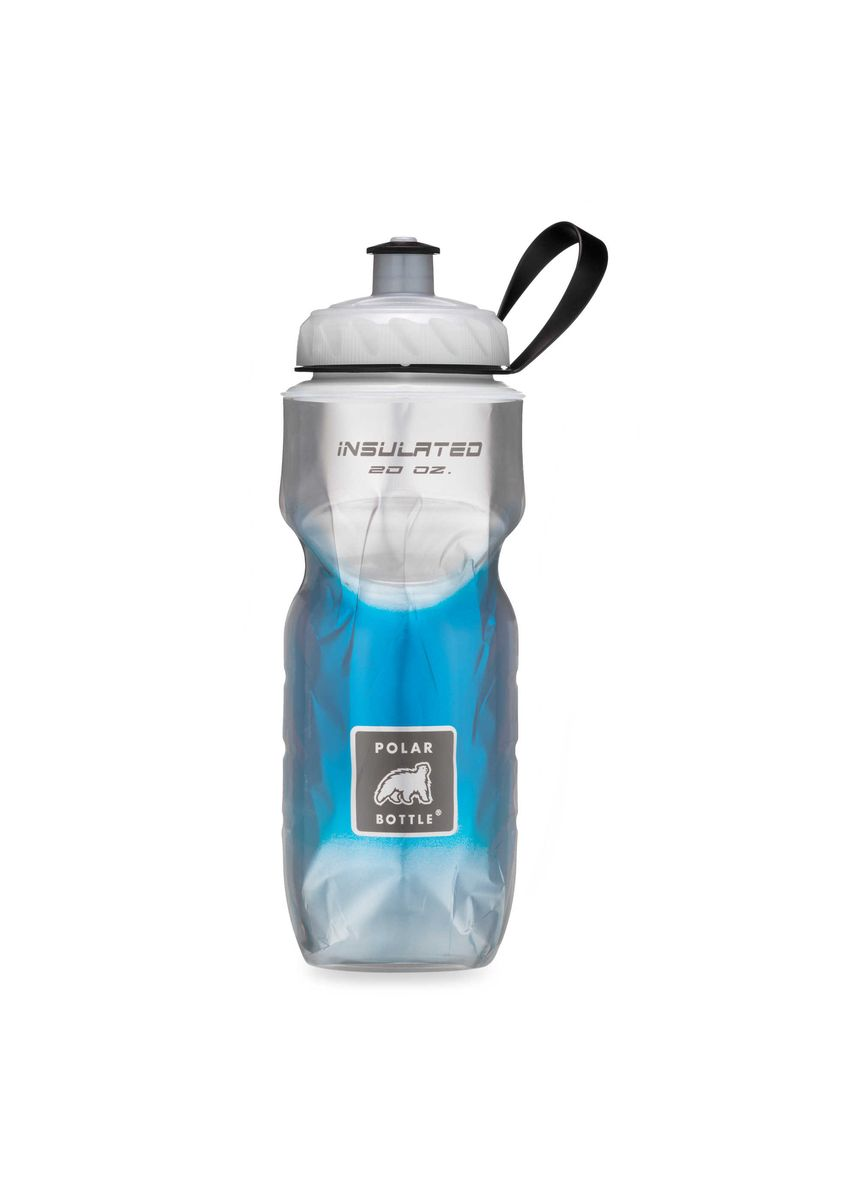 Blue color Kitchen . BOTOL MINUM POLAR BOTTLE Blue Fade 600ml -