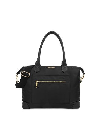Hitam color Tas Messenger . Tas Bahu Les Catino T. Haneda Travel Bag Tote Xl Black -