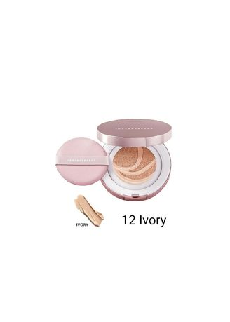 Pink color Face . Wardah BB cushion Instaperfect -