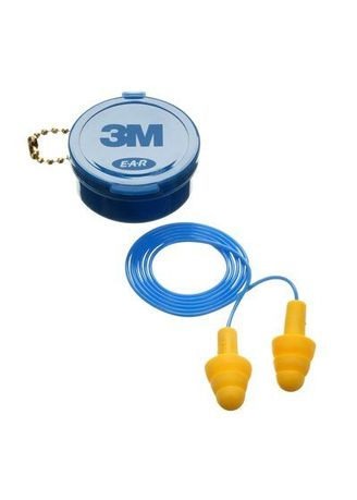 No Color color Safety Equipment . Earplug 4002 - 3M -