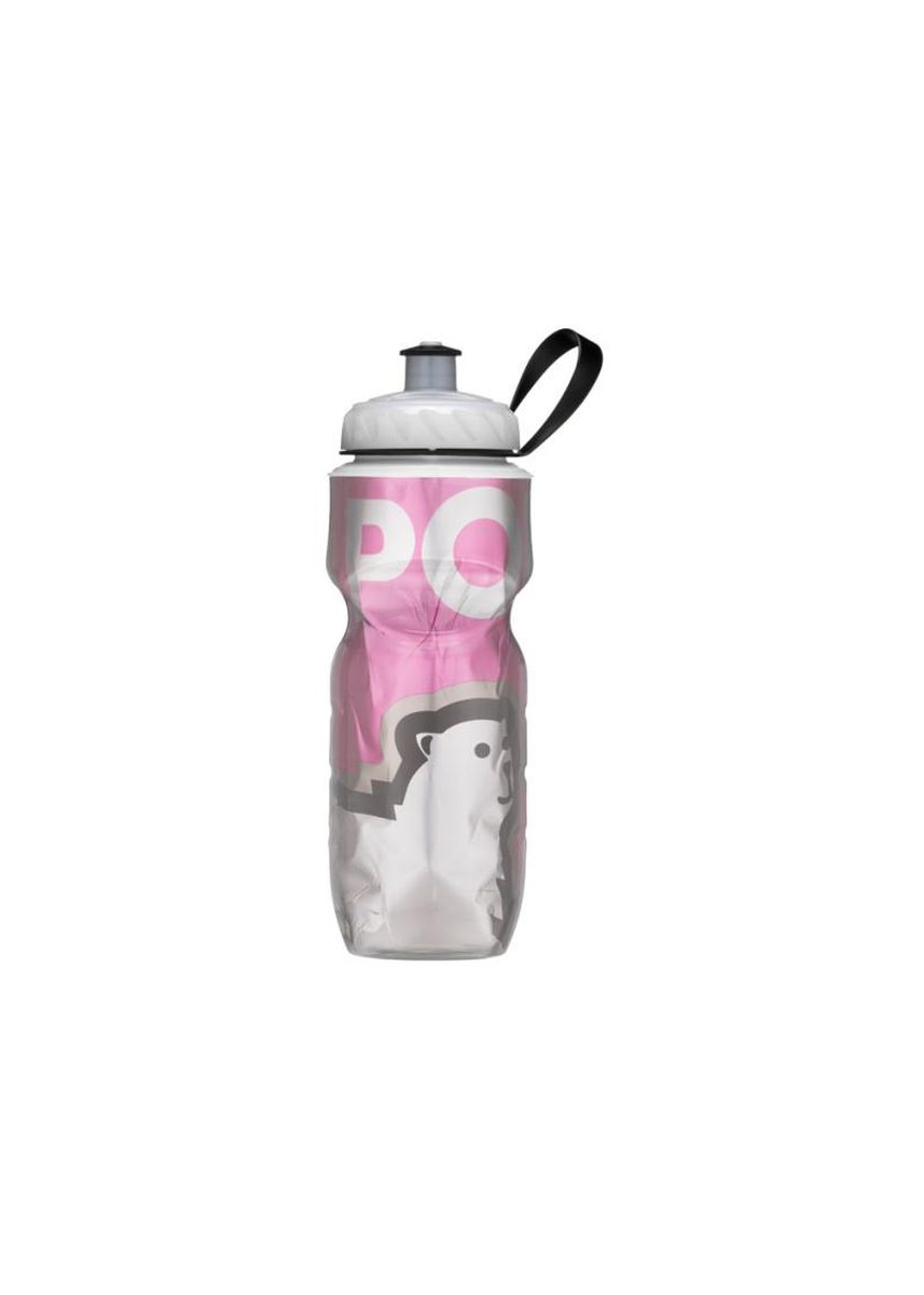 Merah Muda color Dapur . BOTOL MINUM POLAR BOTTLE Big Bear Pink 600ml -