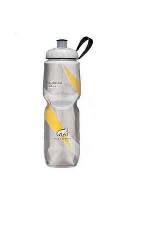 No Color color Kitchen . BOTOL MINUM POLAR BOTTLE Yellow Pattern 700ml -