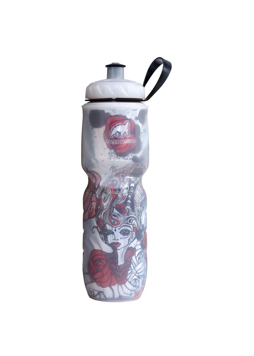 Red color Kitchen . BOTOL MINUM POLAR BOTTLE Red Rose 700ml -