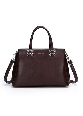 Brown color Sling Bags . New High-quality Large-capacity Soft Leather Shoulder Handbags -