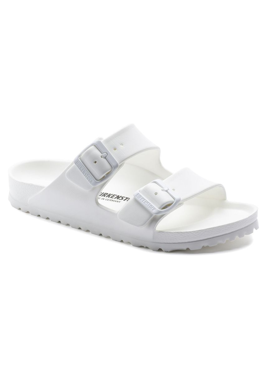 White color Sandals and Slippers . Birkenstock Arizona EVA Women Narrow Width Sandals in White -