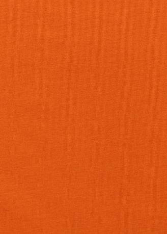 Orange color Cotton Blend . Rib CVC รุ่น Stretch 597 สี แสด รหัส R0015-OR0005 -