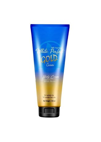 No Color color Moisturizers . โสมควีนโกลด์ White Perfect Gold Cream -