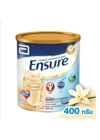 No Color color Health Drinks & Supplements .  Ensure Complete and balanced nutrition Vanilla 400g -