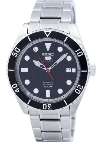 White color Analog . Seiko Automatic Men's Stainless Steel Strap Watch Srpb91K1 -
