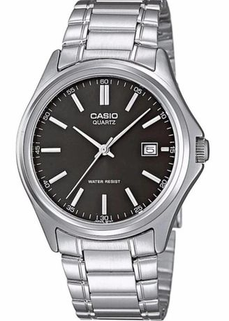 Silver color Analog . Casio Quartz Men's Stainless Steel Strap Watch Mtp-1183A-1Adf -