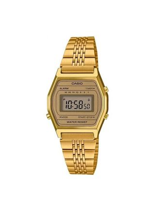Gold color Digital . Casio Digital Women's Stainless Steel Strap Watch La690Wga-9Df -