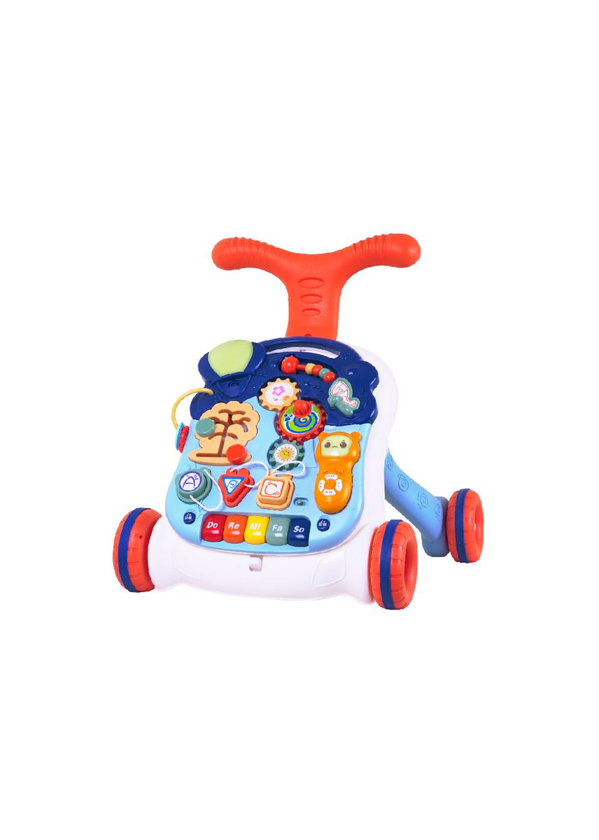 Navy color Toys . IQ Angel Push Walker Musical Baby / Alat Bantu Jalan Bayi / Dorongan Bayi Mainan / Dorongan Baby -