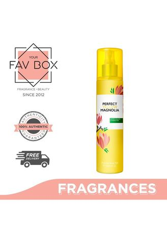 Violet color Fragrances . YOUR FAV BOX United Colors Of Benetton Perfect Yellow Magnolia Perfumed Body Mist 236ml -