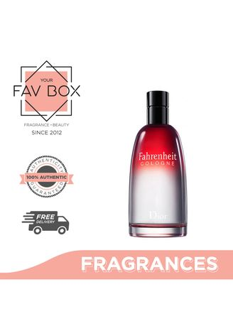 No Color color Fragrances . YOUR FAV BOX Christian Dior Fahrenheit Eau De Cologne For Men 125ml -