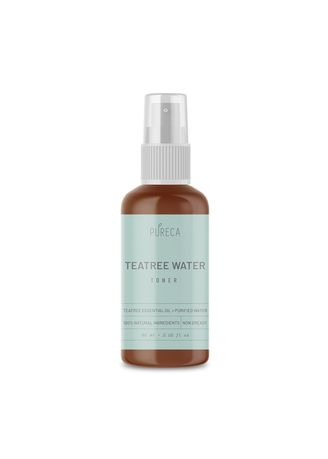 No Color color Toner & Cleanser . PURECA Toner Skin Care Premium Teatree - Setting Spray Face Mist Acne Prone Dry 60 ml -