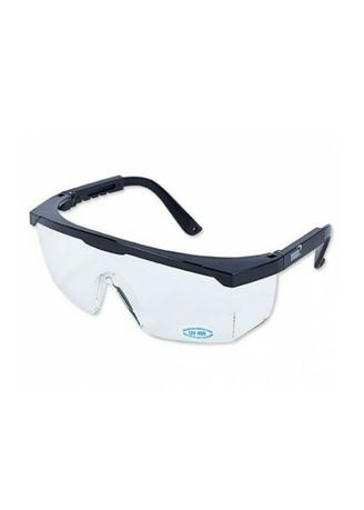 Black color Goggles . แว่นตาเซฟตี้ สีใส YS-110 -