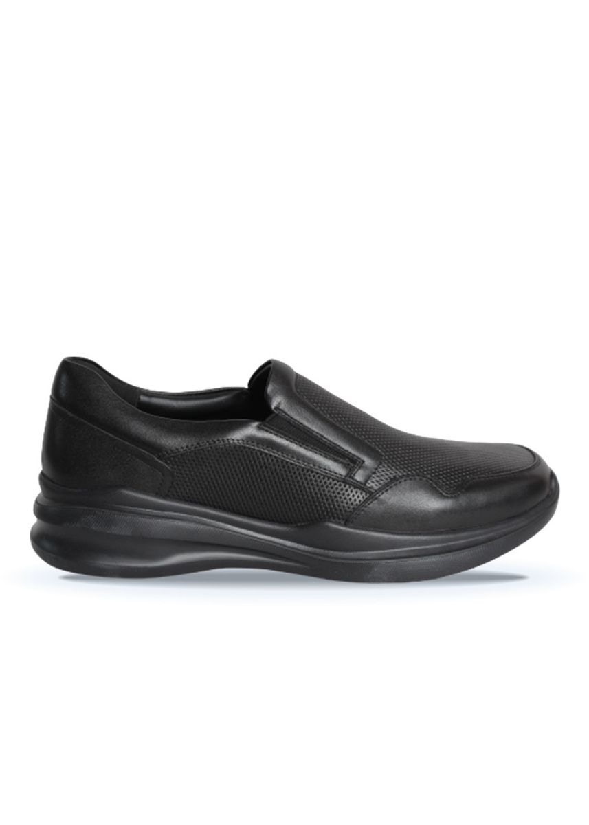 Black color Formal Shoes . Gino Mariani Henderson Black Sepatu Pria Formal -