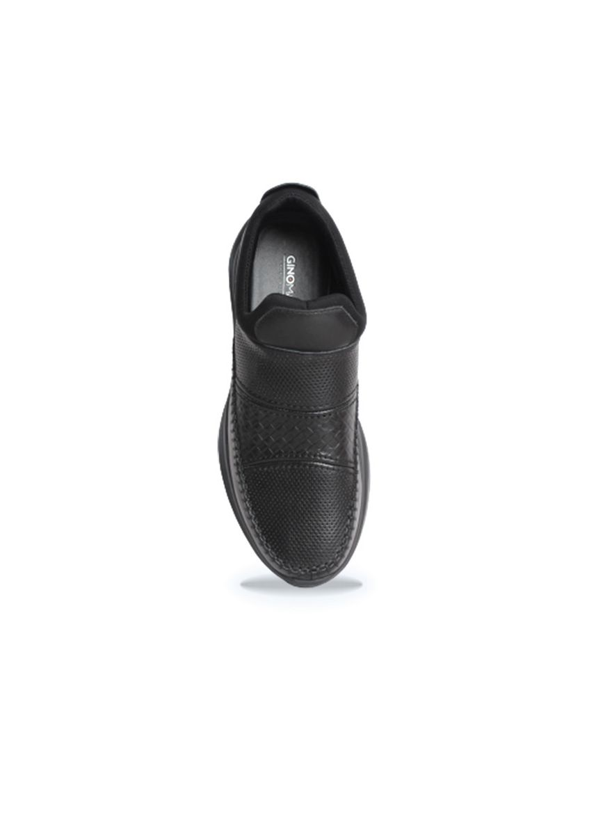 Black color Formal Shoes . Gino Mariani Hudson Black Sepatu Pria Formal -