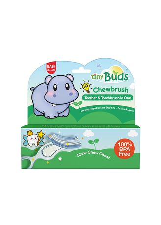 White color Others . Tiny Buds Baby Tiny Chewbrush Teething -
