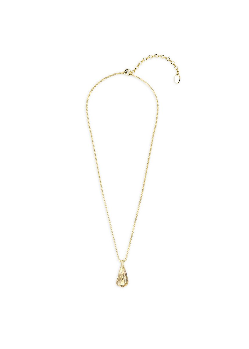 Yellow color  . Comet Droplets Pendant (Yellow Gold) - Embellished with Crystals from Swarovski® -