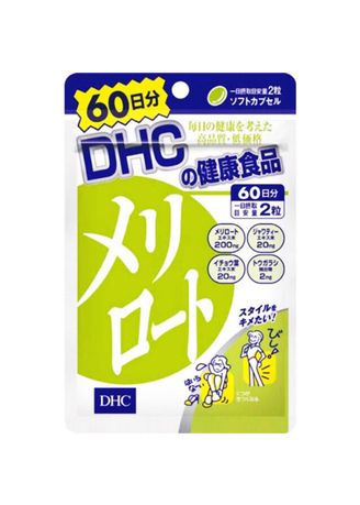 No Color color Weight Management . DHC Meriroto 60 day made in Japan -