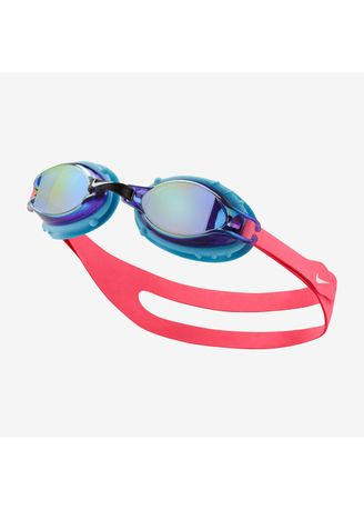 No Color color Accessories . Nike Swim Unisex Chrome Mirror Youth Goggle in Racer Pink -