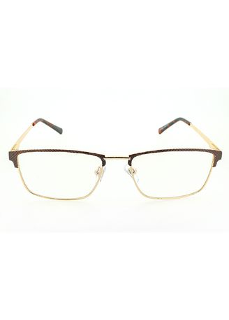 Brown color Frames . AXN Rectangle Anti-Radiation Computer Glasses -