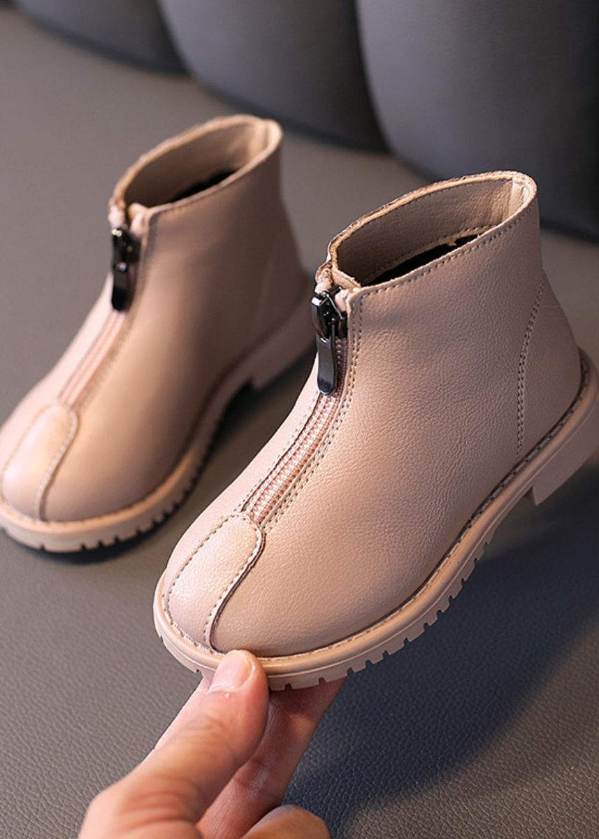 Pink color Footwear . Children's New Martin Boots  -