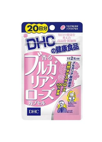 No Color color Beauty Supplement . dhc bulgarian rose 20 days -