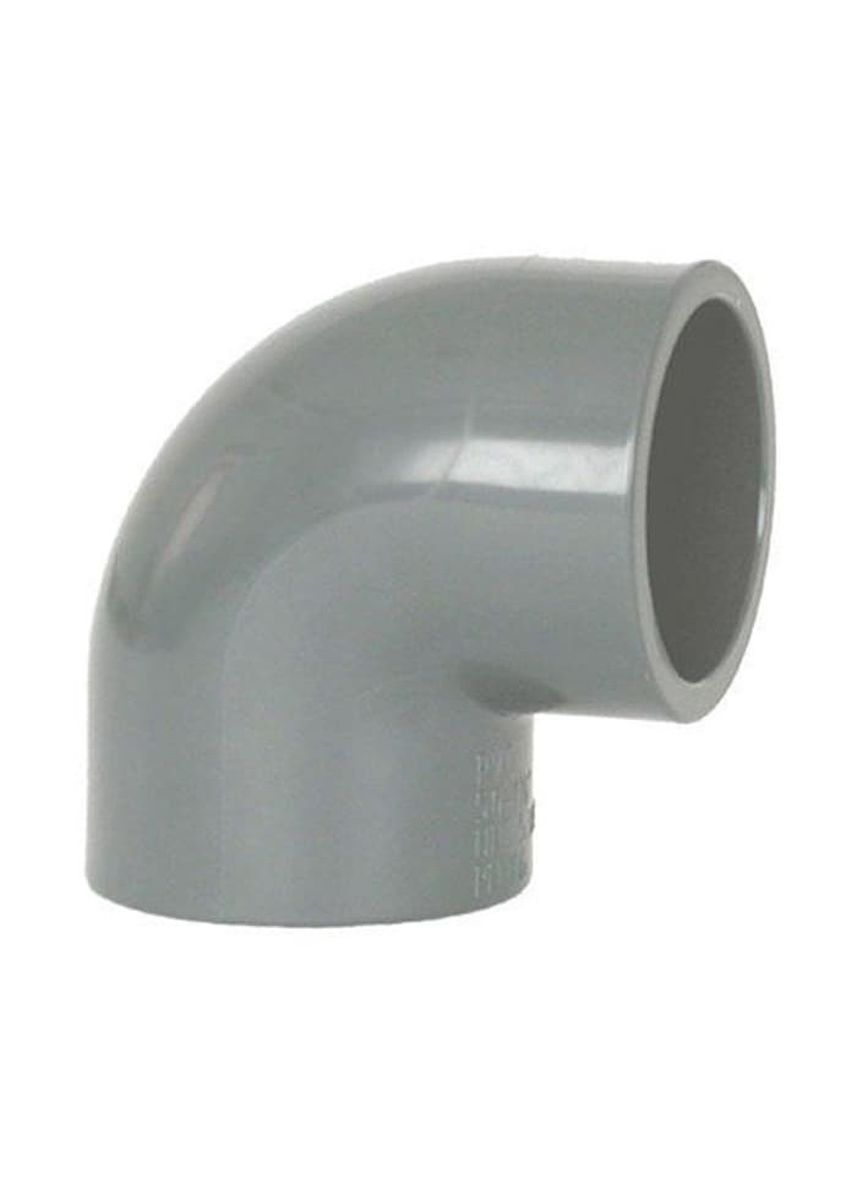 No Color color Plumbing . Elbow PVC 3 -