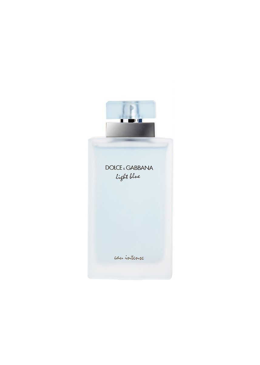 Multi color Fragrance . Dolce & Gabbana Light Blue Eau Intense Pour Femme . Eau de Parfum 100 ml -