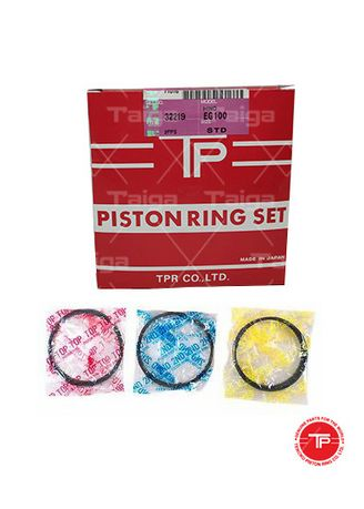 No Color color Piston Systems . TP Piston Ring 32219-STANDARD set of  6 for  Hino Truck, Bus, EF100, EF100T -