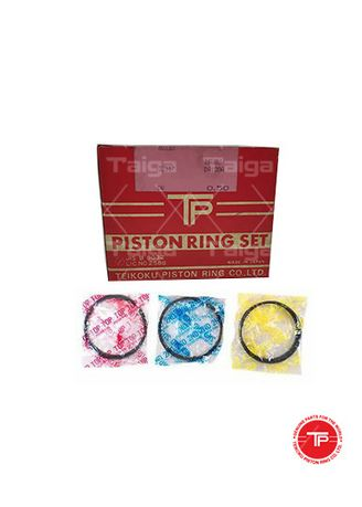 No Color color Piston Systems . TP Piston Ring 32517-50 set of  4 for  Isuzu Bus, Industrial Model, Generator, DA120A -