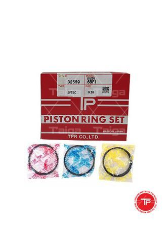 No Color color Piston Systems . TP Piston Ring 32559-0.25 set of  6 for  Isuzu  forward, 6BF1 -