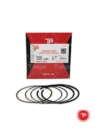 No Color color Piston Systems . TP Piston Ring 32562 cylinder-0.25 set of  10 for  Isuzu Truck,  Bus, 10PB1 -