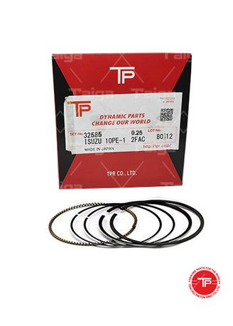 No Color color Piston Systems . TP Piston Ring 32585-0.25 set of  6 for  Isuzu Truck, 6RA1, 6RB1 -